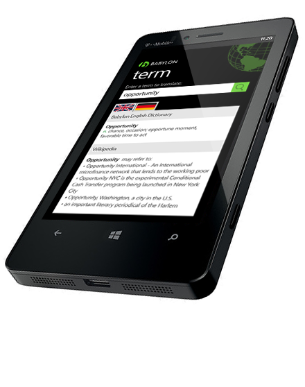 Free translator app for Windows Phone